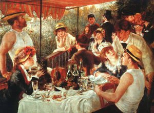 Pierre Auguste Renoir - The Boating Party Lunch