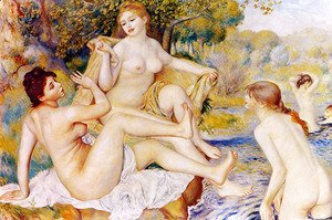 Pierre Auguste Renoir - The Large Bathers