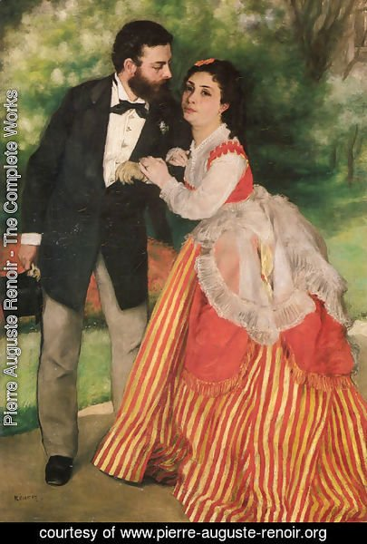 Pierre Auguste Renoir - Portrait of Alfred and Marie Sisley
