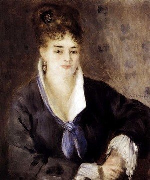 Pierre Auguste Renoir - Woman In Black