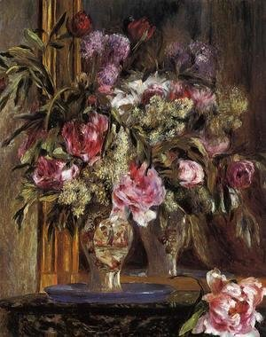 Pierre Auguste Renoir - Vase of Flowers 2