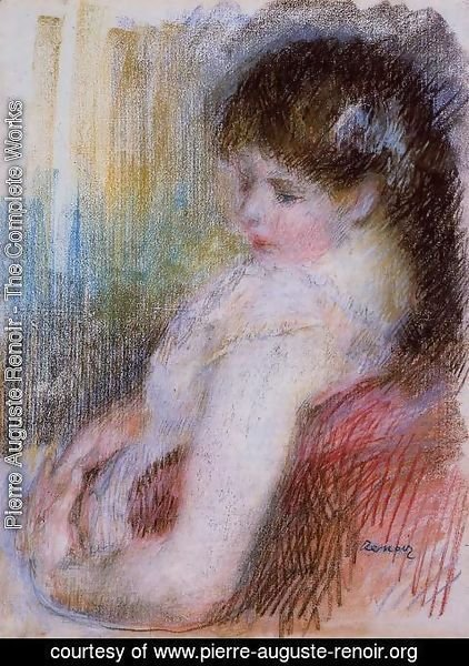 Pierre Auguste Renoir - Seated Woman 2