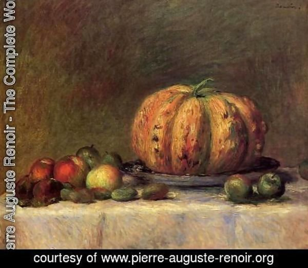 Pierre Auguste Renoir - Still Life with Fruit 2