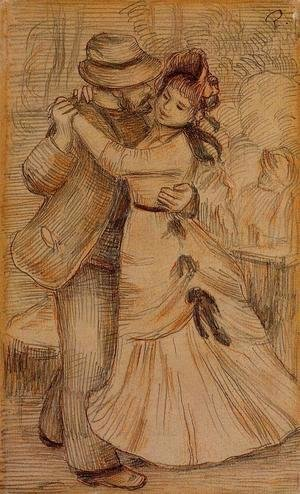 Pierre Auguste Renoir - Dance in the Country 2