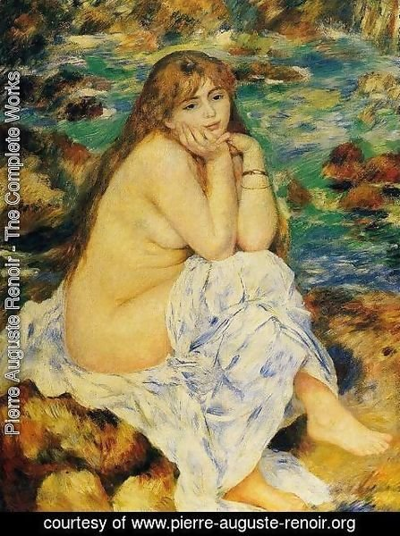 Pierre Auguste Renoir - Seated Nude I