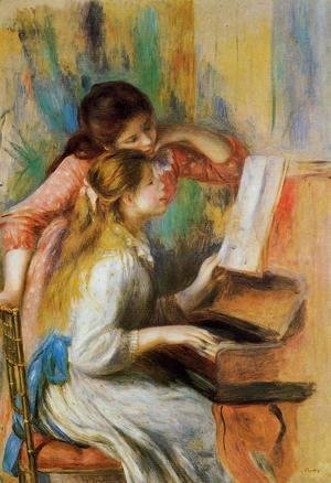 Pierre Auguste Renoir - Girls at the Piano I