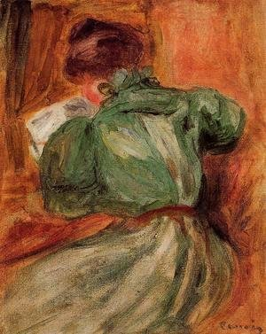 Pierre Auguste Renoir - Reader in Green