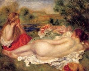 Pierre Auguste Renoir - Two Bathers 2