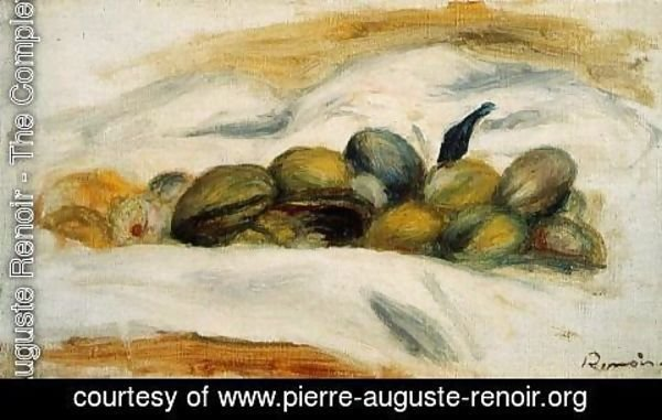 Pierre Auguste Renoir - Still Life - Almonds and Walnuts 2