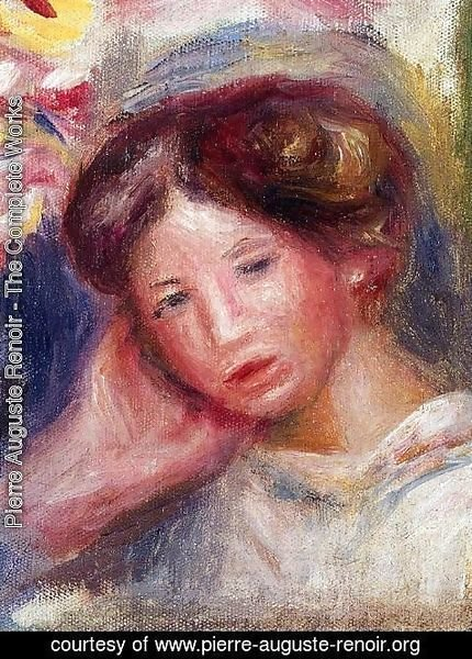 Pierre Auguste Renoir - Woman's Head II