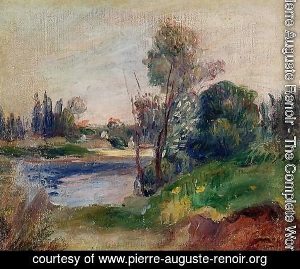 Pierre Auguste Renoir - Banks of the River I