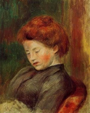 Pierre Auguste Renoir - Woman's Head V