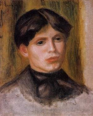 Pierre Auguste Renoir - Woman's Head VI