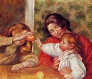 Pierre Auguste Renoir - Gabrielle, Jean and a Little Girl