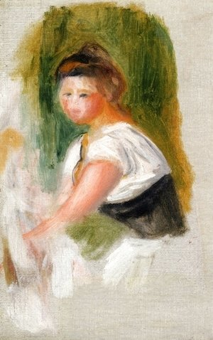 Pierre Auguste Renoir - Young Woman