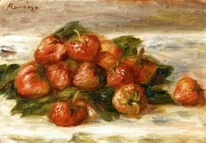 Pierre Auguste Renoir - Still Life with Strawberries II