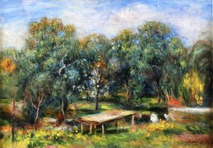 Pierre Auguste Renoir - Landscape at Collettes I