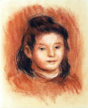 Pierre Auguste Renoir - Girl's Head