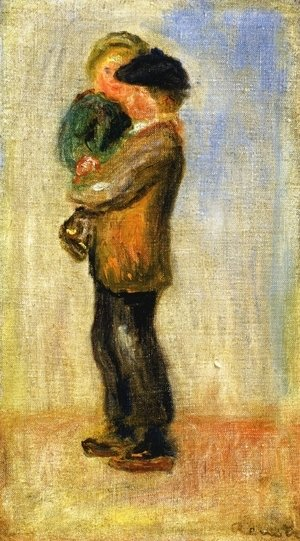 Pierre Auguste Renoir - Man Carrying a Boy