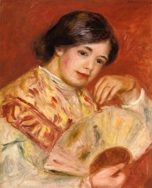 Pierre Auguste Renoir - Woman with a Fan II