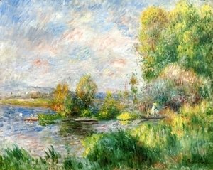 Pierre Auguste Renoir - The Seine at Bougival