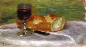 Pierre Auguste Renoir - Glass of Wine
