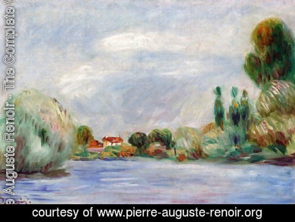 Pierre Auguste Renoir - House on the River