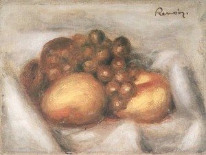 Pierre Auguste Renoir - Still Life with Fruit 3