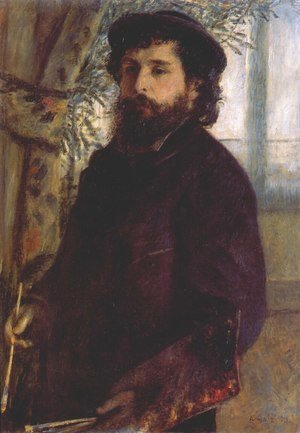 Pierre Auguste Renoir - Portrait of Claude Monet