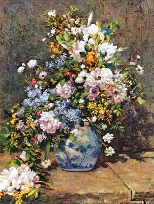 Pierre Auguste Renoir - Bouquet of Spring Flowers