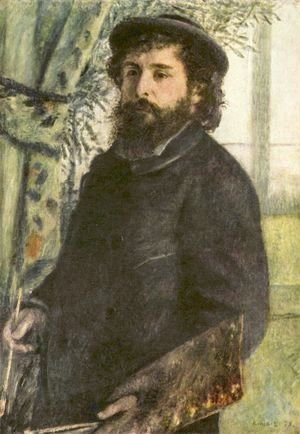 Pierre Auguste Renoir - Claude Monet Painting