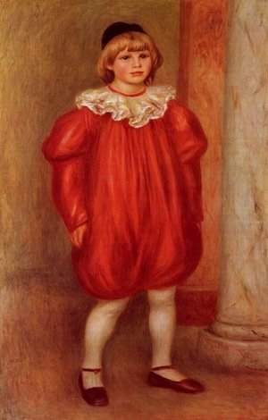 Pierre Auguste Renoir - Claude Renoir in Clown Costume (The Clown)