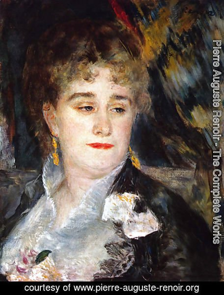 Pierre Auguste Renoir - First Portrait of Madame Georges Charpentier
