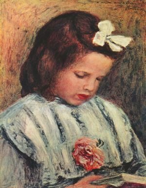 Pierre Auguste Renoir - Girl Reading 2