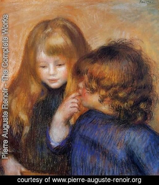 Pierre Auguste Renoir - Jean and Coco (the artist's sons)