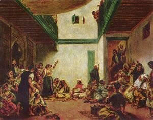 Jewish wedding (after Delacroix)