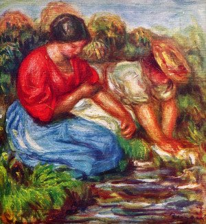 Pierre Auguste Renoir - Laundresses 3
