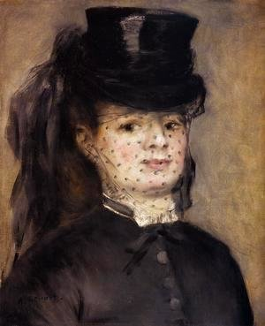 Pierre Auguste Renoir - Madame Darras as an Horsewoman 2