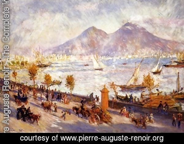 Pierre Auguste Renoir - Mount Vesuvio in the Morning