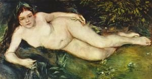 Pierre Auguste Renoir - Nymph at the source