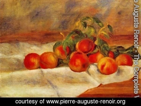 Pierre Auguste Renoir - Peaches 1