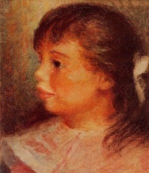Pierre Auguste Renoir - Portrait of a Girl 1