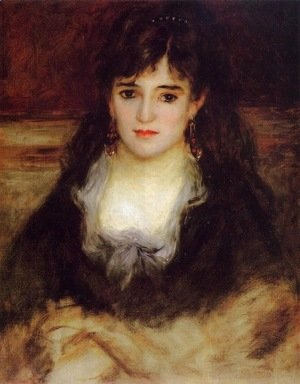 Pierre Auguste Renoir - Portrait of a Woman (Nini Fish-Face)