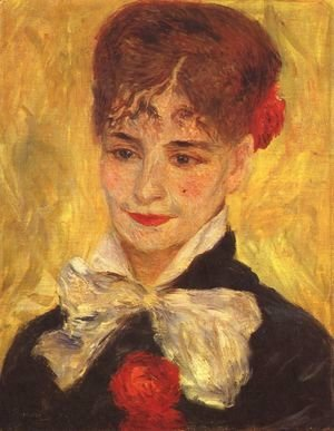 Pierre Auguste Renoir - Portrait of Mme Iscovesco