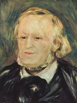 Pierre Auguste Renoir - Portrait of Richard Wagner