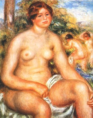 Seated Bather 2