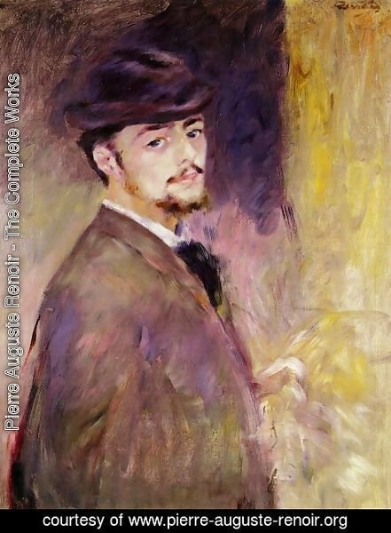 Pierre Auguste Renoir - Self Portrait 2