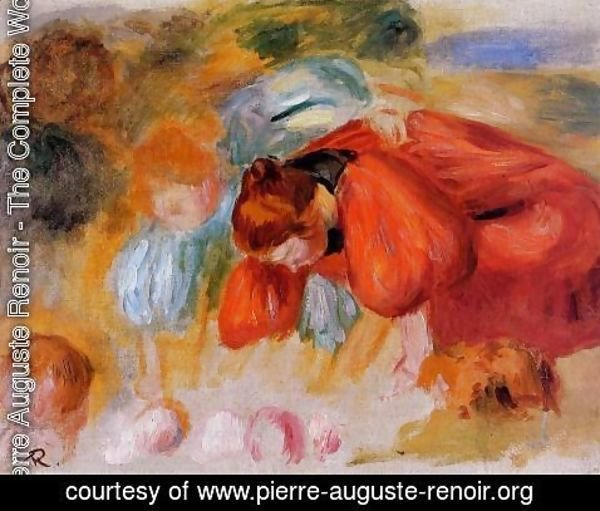 Pierre Auguste Renoir - Study for 'The Croquet Game'