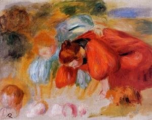 Study for 'The Croquet Game'