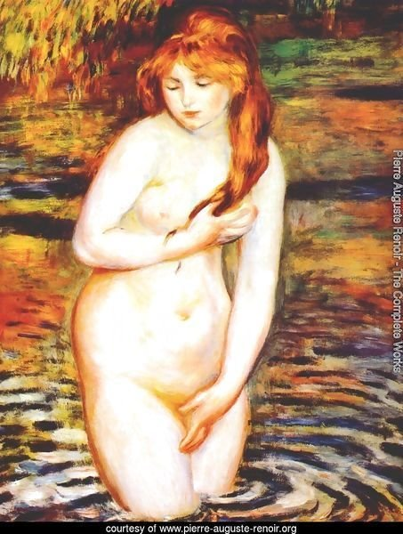 The Bather (After the Bath)